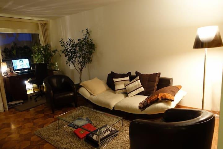 Appartement en campagne spacieux et agréable