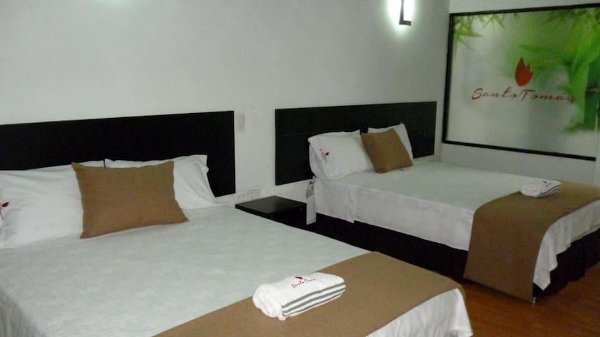 Finca Hotel Santo Tomas, armonía con la naturaleza