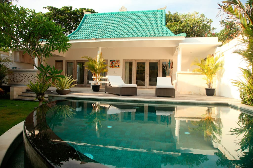 view of the villa Aquarama 3 - Sanur Beach, Bali - 2 bedrooms - 4 guests