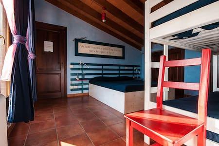 B&B Casalventodimare e Tramontana - stanza 4 posti - Montalto di Castro