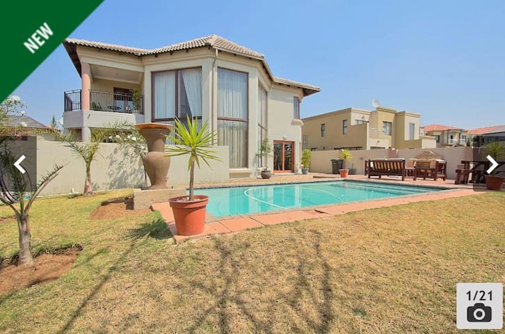 BEAUTIFUL place in a security lifestyle estate