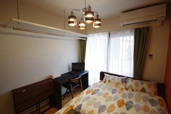 21) 1min Gojo st. Private WIFI Central of Kyoto!