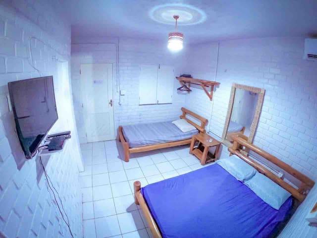 Primeiro quarto.