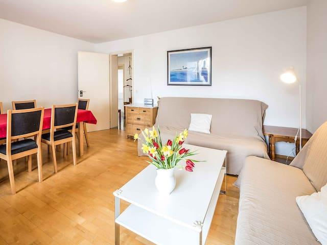 Ferienwohnung Im Stühlinger, (Freiburg), Ferienwohnung mit 80qm, 2 Schlafzimmer für max. 6 Personen