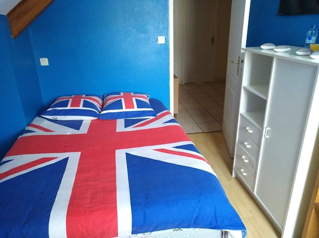 Chambre couleur Bretagne