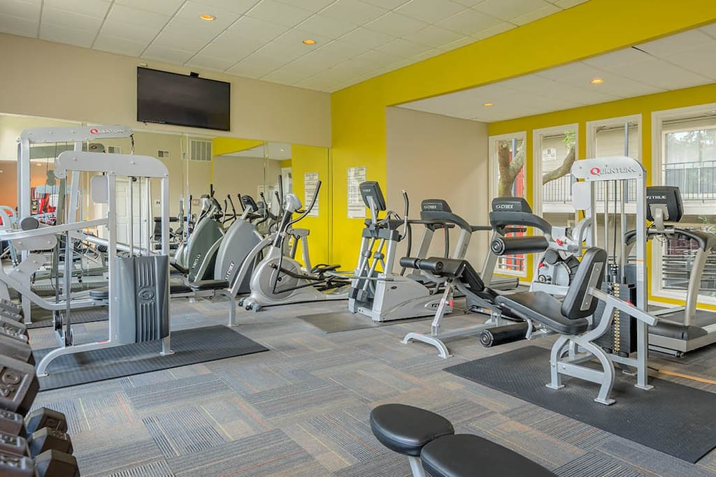 Gym access with stay