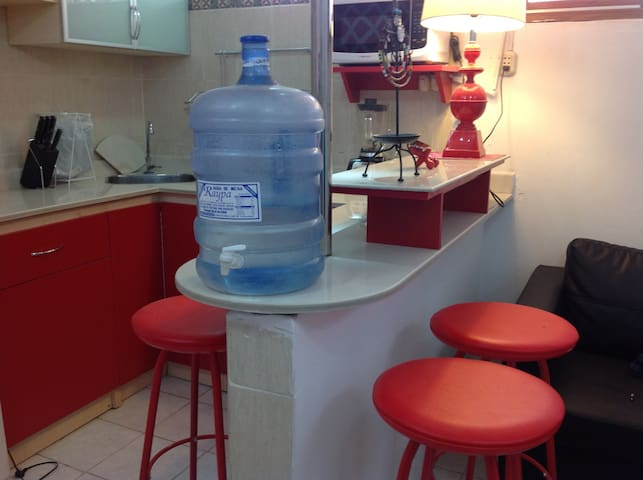 Minidepartamento totalmente amoblado - Piura - Apartament