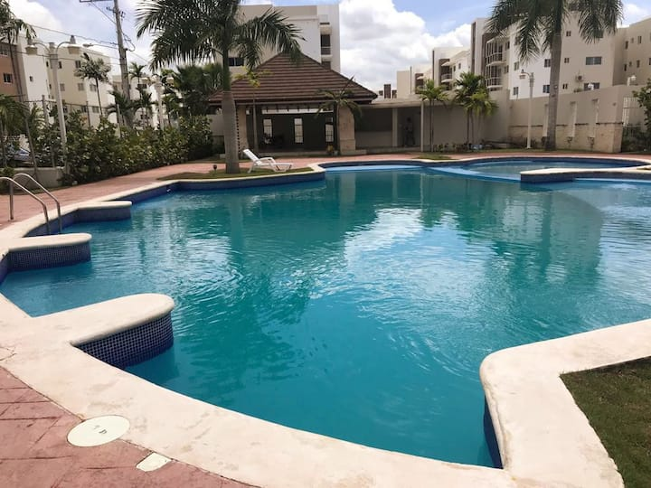 New Apartment!! Pool, Wifi & Full A/C !!!