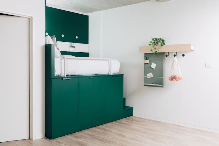 Stanmore designer studio  in co living building