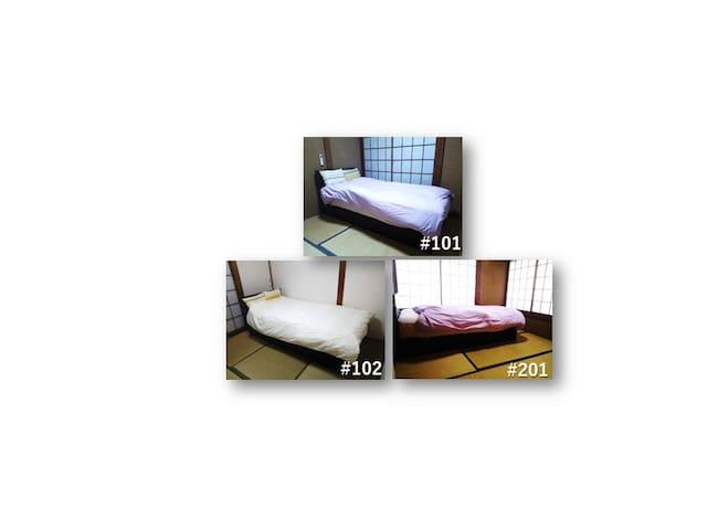 【EG-PT2】シングルベッド【個室】2