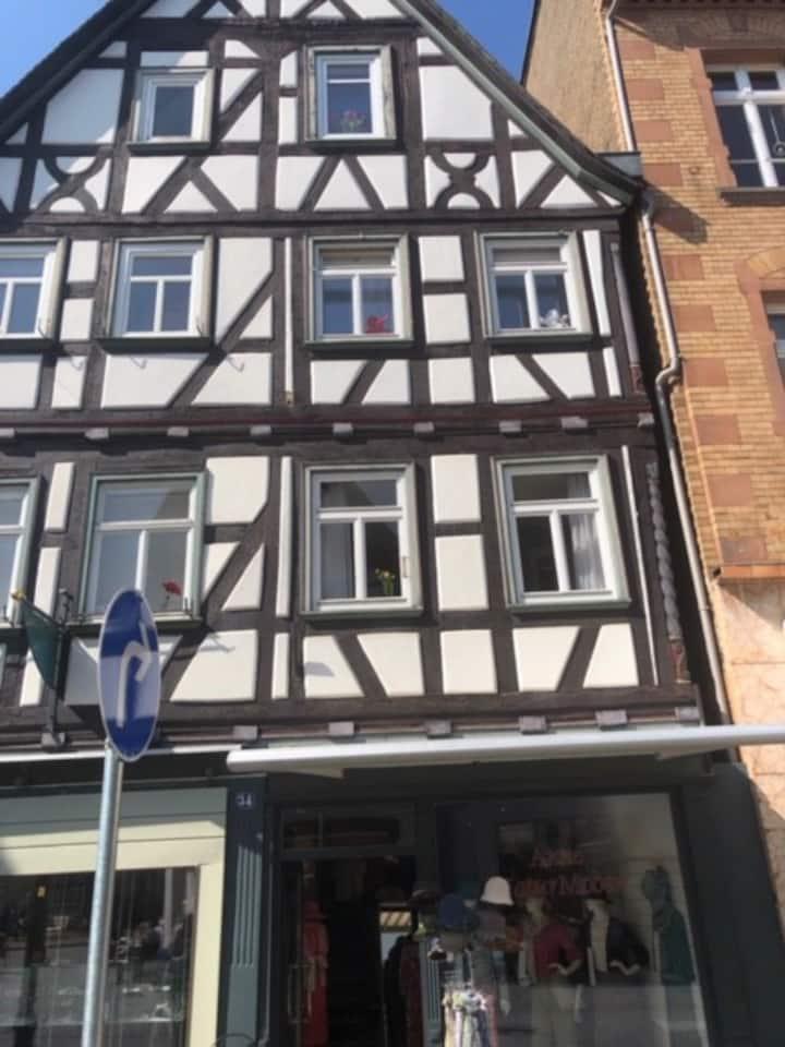 Whg.für 3 Pers. mitten i.d. Altstadt v. Wetzlar
