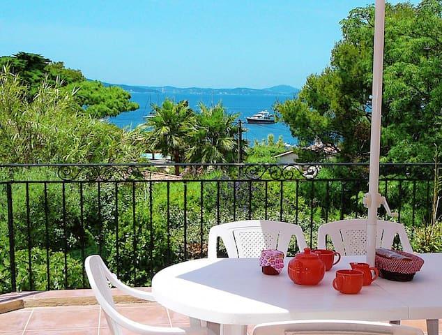 Appartement avec terrasse et jardin, plage à 100 m - Le Pradet - Appartement