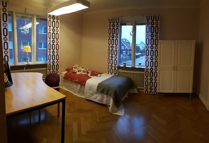 The Red room in central Uddevalla