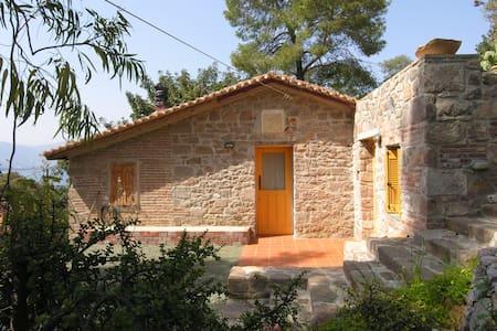 Stone build cottage in Love Bay Poros