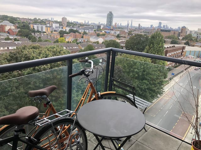 5 minutes walking from Greenwich Park with a view
