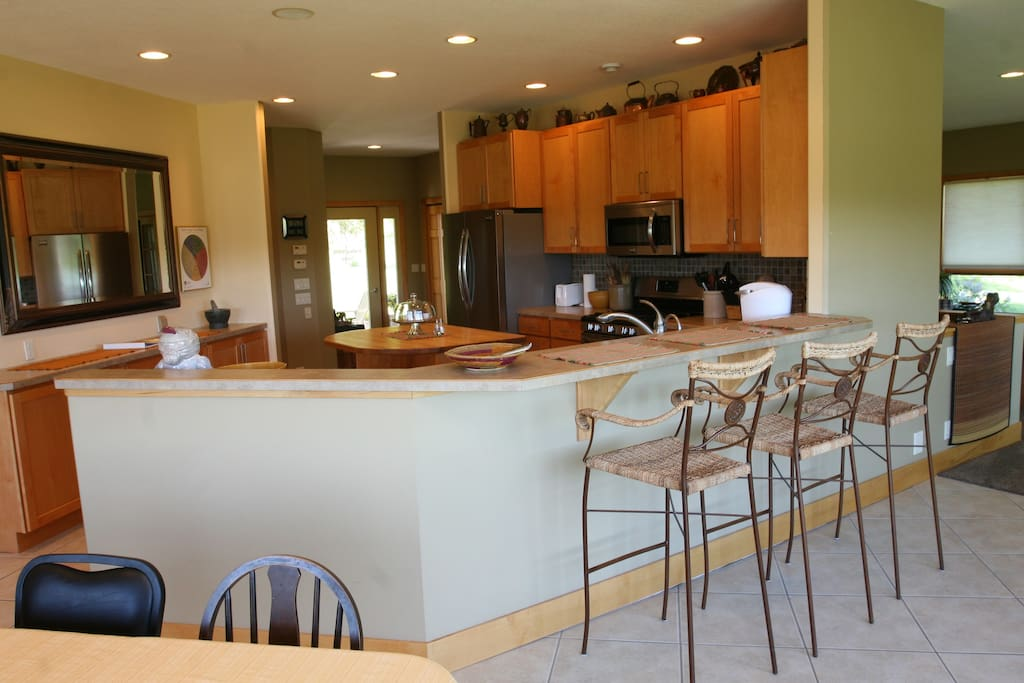 Spacious Kitchen, Dining, Living Areas