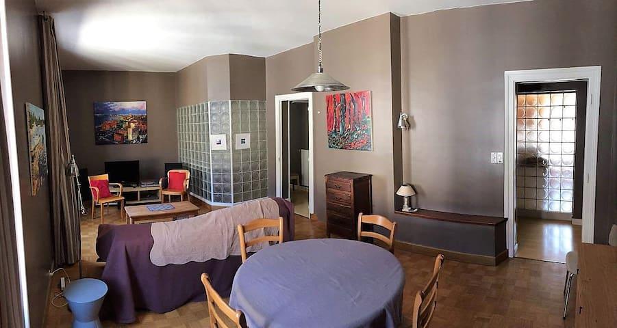 Appartement spacieux, lumineux, calme - ctre ville
