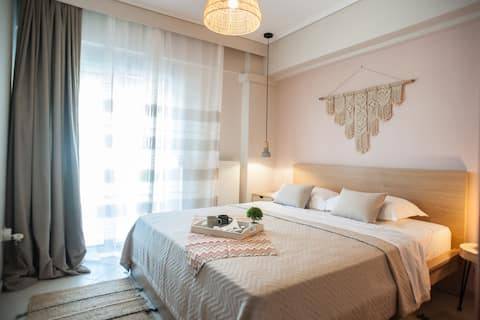 Luxurious apartment, less than 60 m from the sea!