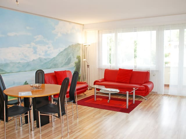 1-room apartment 50 m² Lido (Utoring) for 2 persons in Locarno