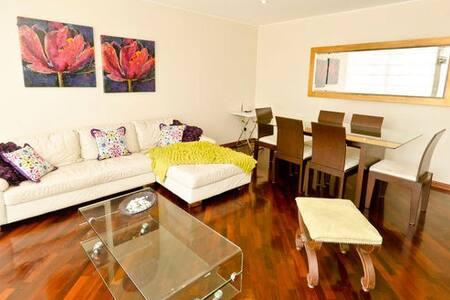 I37: 1 block from the beach !!!! - Miraflores - Apartment