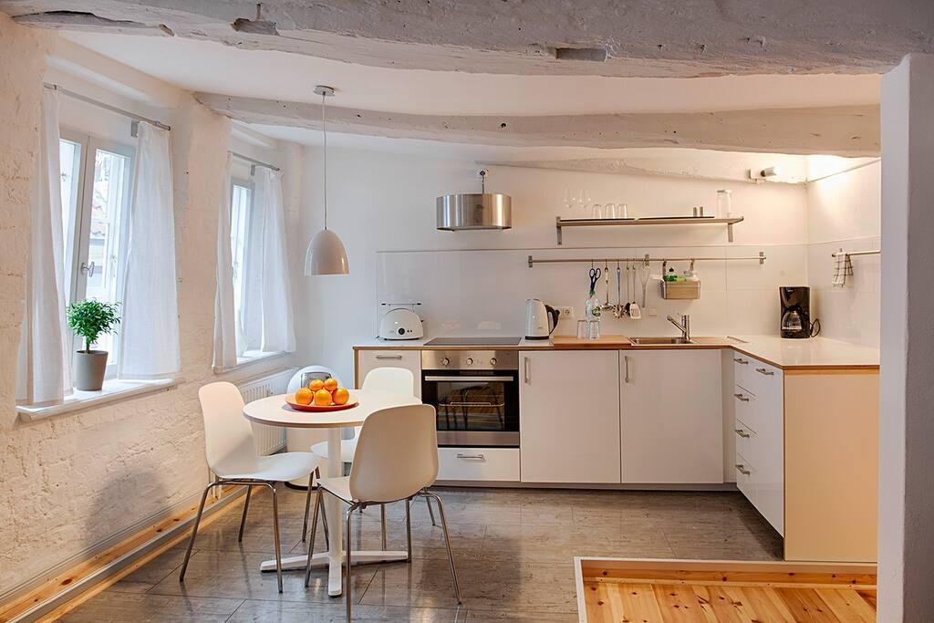dq11 – Offene Wohnküche / Kitchen area