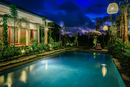 ORGANIC FARM VILLA AT THE MOKSHA UBUD  # 1 - Ubud - Villa