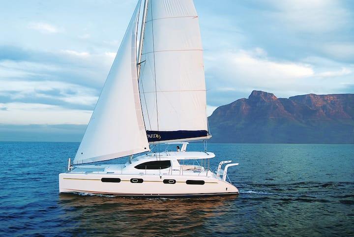 46' Sailing Catamaran - Crewed & All-Inclusive