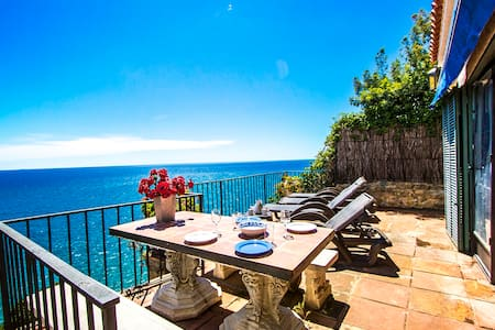 Mamma Mia oceanfront house in Calella for 7 people, on the beaches of Costa Brava! - Costa Brava - Villa
