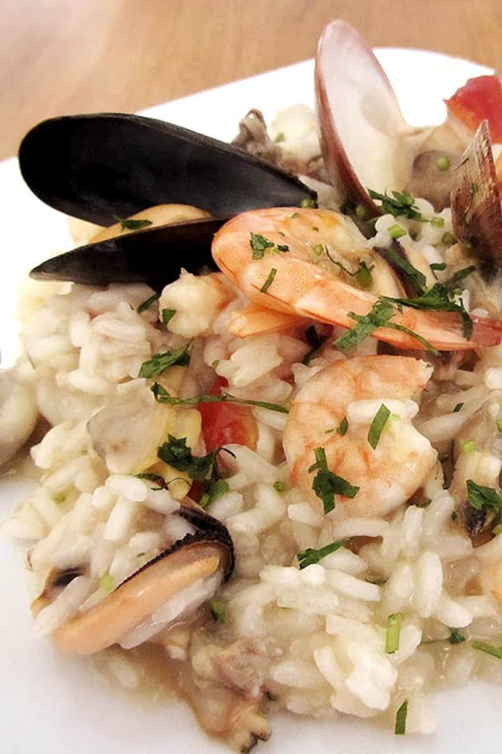 Fisherman style risotto...