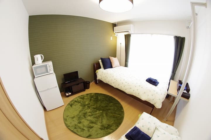 8mins Kyoto st. & NEAR BUS TERMINAL , PRIVATE  #33