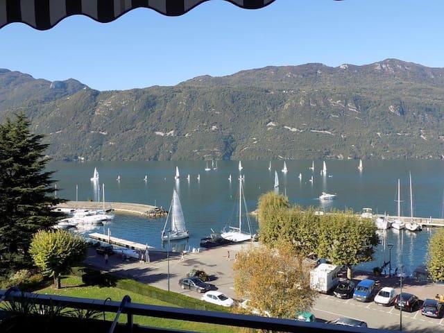 Joli studio avec tres jolie vue lac - Aix-les-Bains - Apartemen