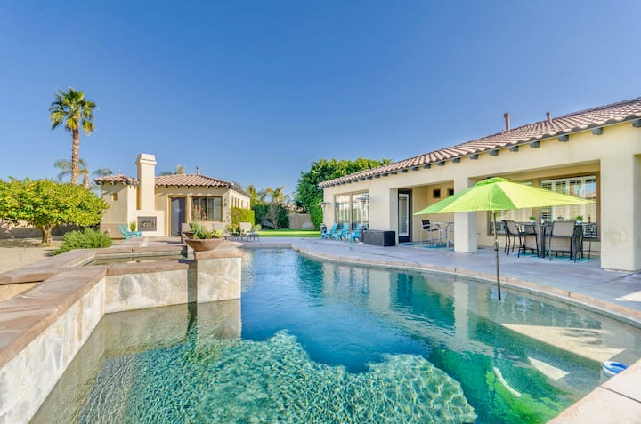 LUXURY 8BED VILLA! POOL+COACHELLA-SLEEPS 16!