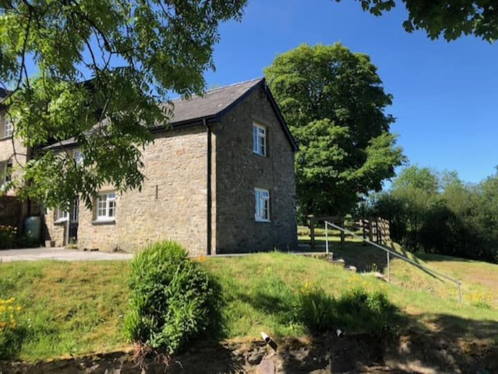 Ceredigion Cottage in peaceful setting