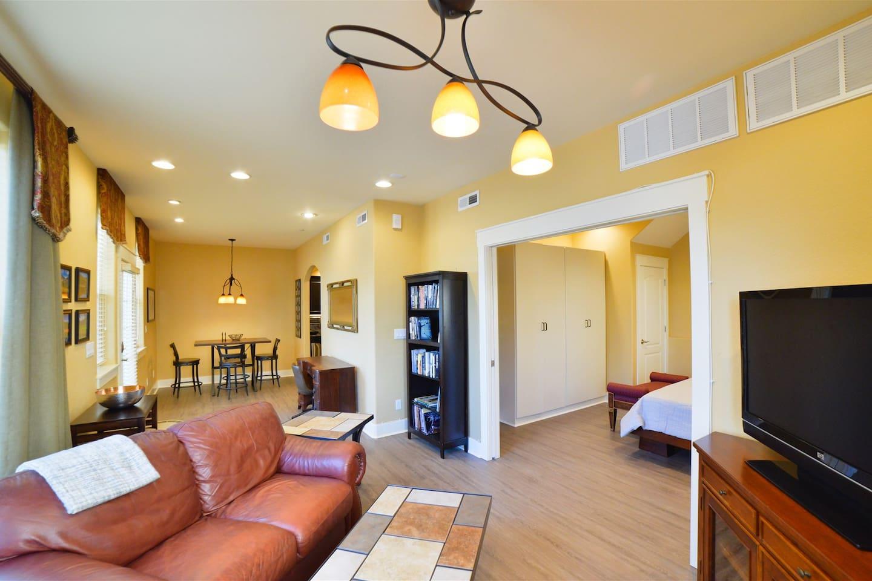 Spacious and Cozy Open Floor Plan