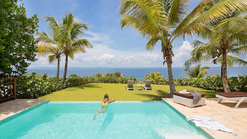 BREATHTAKING VILLA WITH OCEAN VIEW - Samaná - Huis
