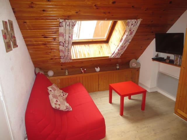 Charmant studio cabine à Allos