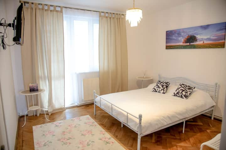 Old City Brasov Apartment with private parking