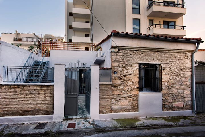 Experience a Unique hand-built house at Gazi area