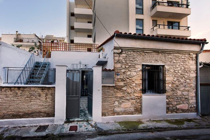 Experience a Unique hand-built house at Gazi area