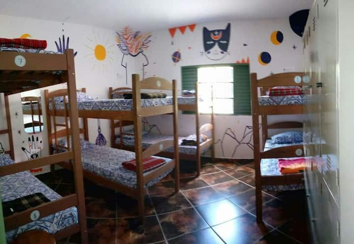 Sumé Hostel quarto compartilhado misto