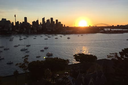 Spectacular views of Sydney Harbour - Darling Point - Appartement
