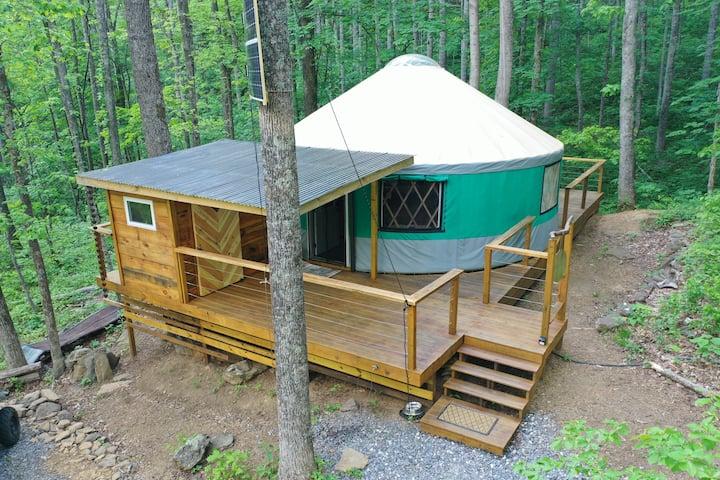 Creekside Yurt
