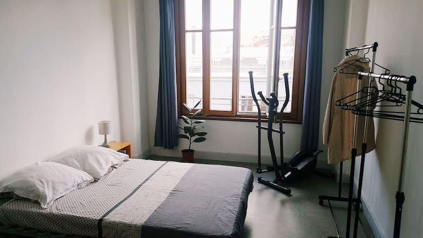 Chambre sécurisée au coeur de Lille sans Wi-Fi