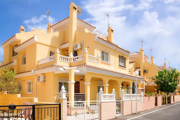 House by Sea near Playa Flamenca, Zenia, CaboRoig