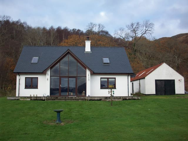 WESTFIELD B&B (Beach front accomodation) TWIN ROOM - Inverie - Dom