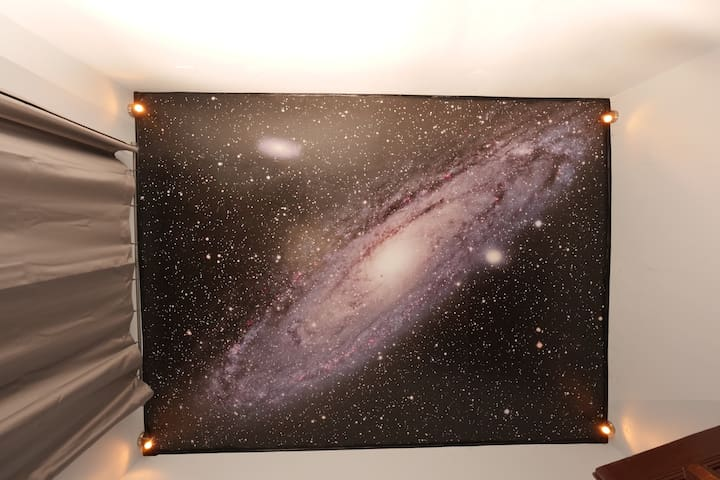 Private bedroom - Andromeda Galaxy