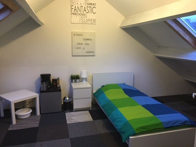 Nice room near train/busstation in Etten-Leur