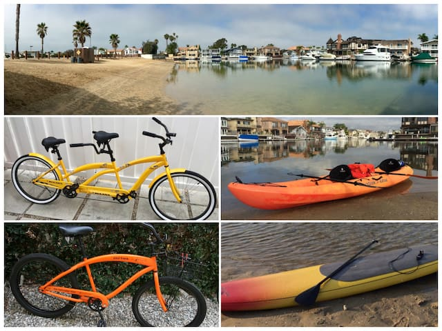 Walk or Bike to Sunset Beach + Kayak & SUPs! - Huntington Beach - Dům