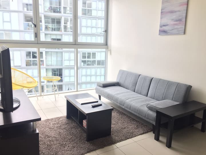 Homely 2BD Apt close to CBD + CityView FreeParking