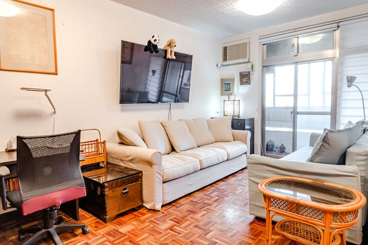 Spacious Da'an Park 3 BR, New Renovation!